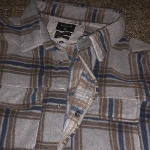 Quicksilver flannel button fly
